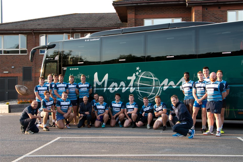 Rugby team appoints Mortons as official travel par