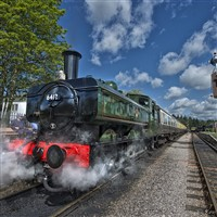 The Watercress Line with a Cream tea