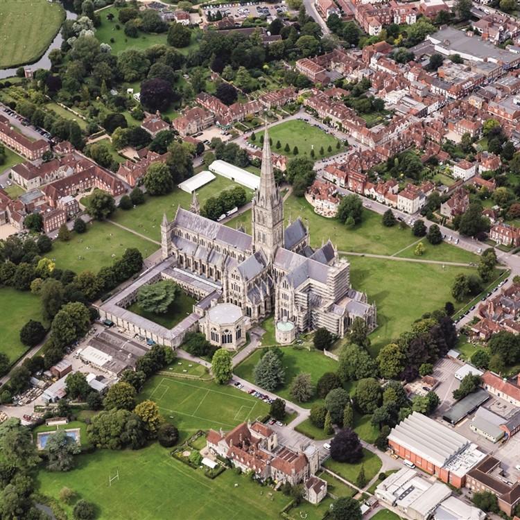 Salisbury Sights and Shopping