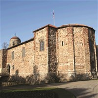 Roman town of Colchester
