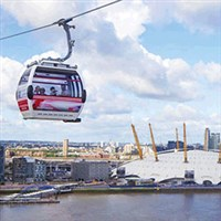Emirates Cable Car, Tea & Cruise