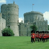 Windsor Castle & afternoon tea