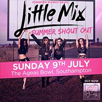 Little Mix at The Ageas Bowl from Portsmouth