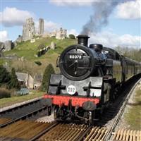 Steam Train Ride & Swanage