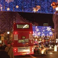 London Lights and  Christmas Shopping