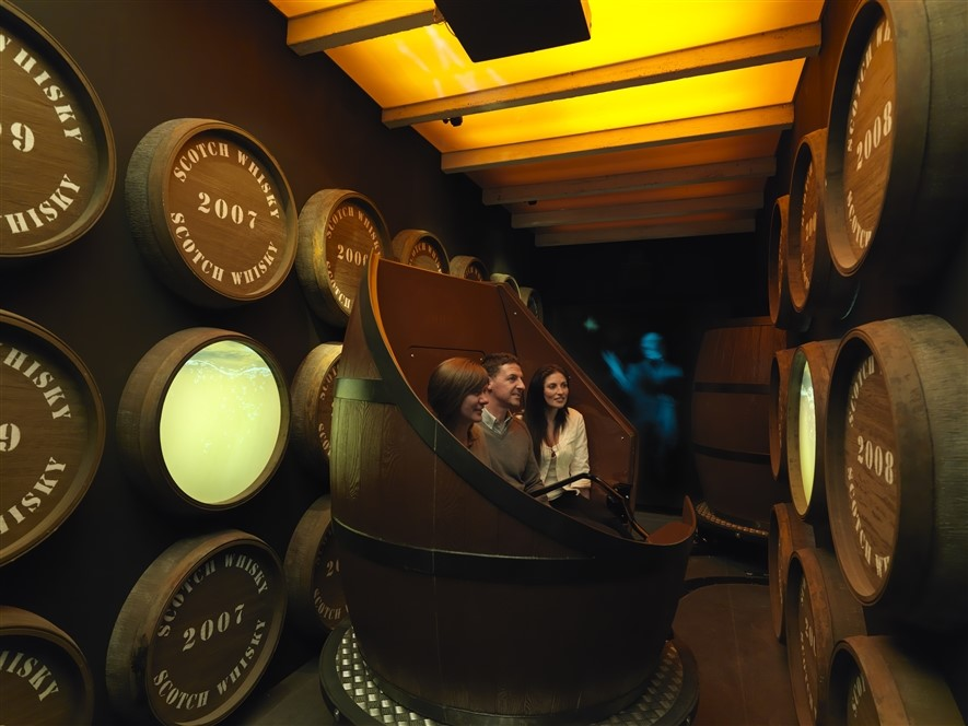 ©The Scotch Whisky Experience Maturation