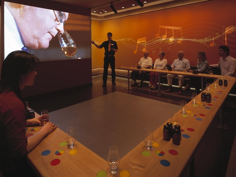 ©The Scotch Whisky Experience-Sense Room