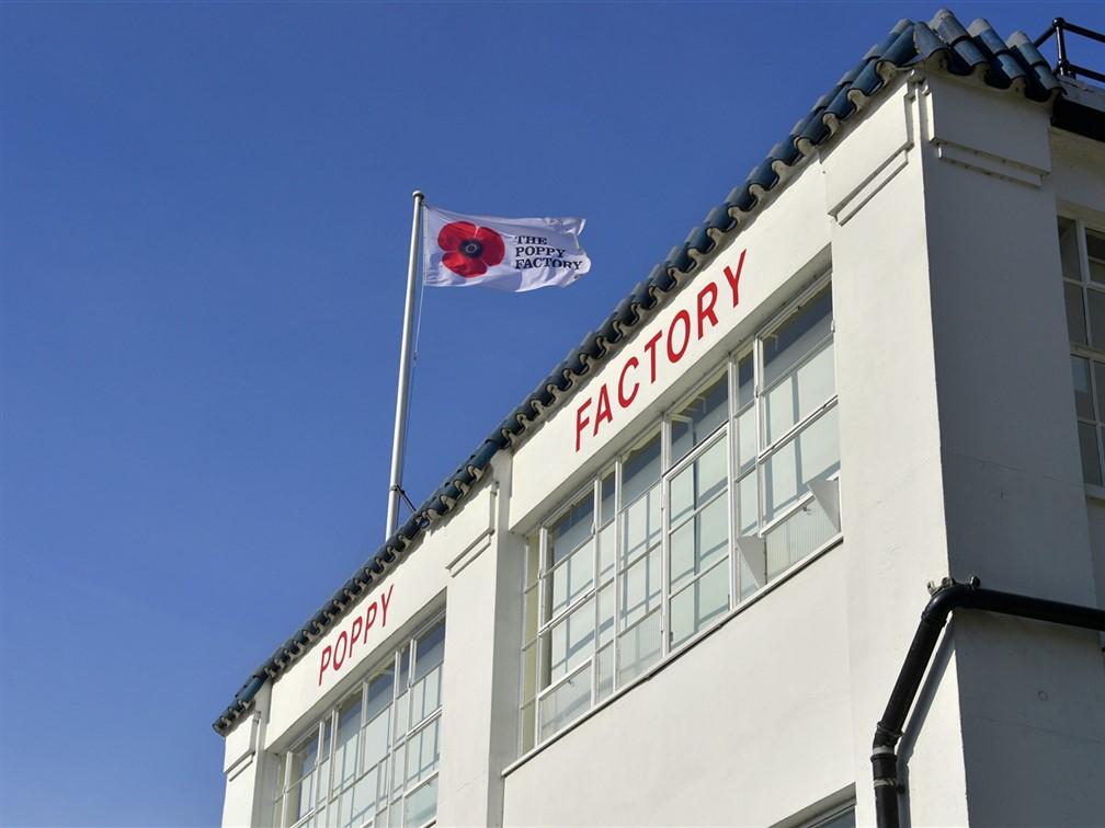 Poppy Factory Tour