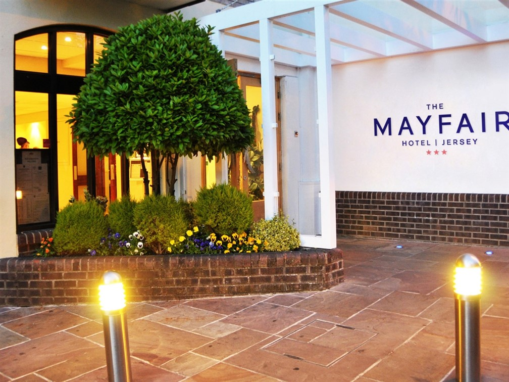 Mayfair Hotel Entrance