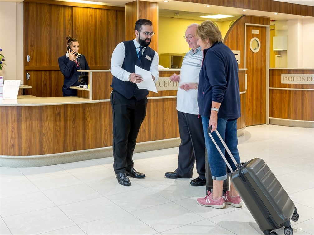 Mayfair Hotel Reception