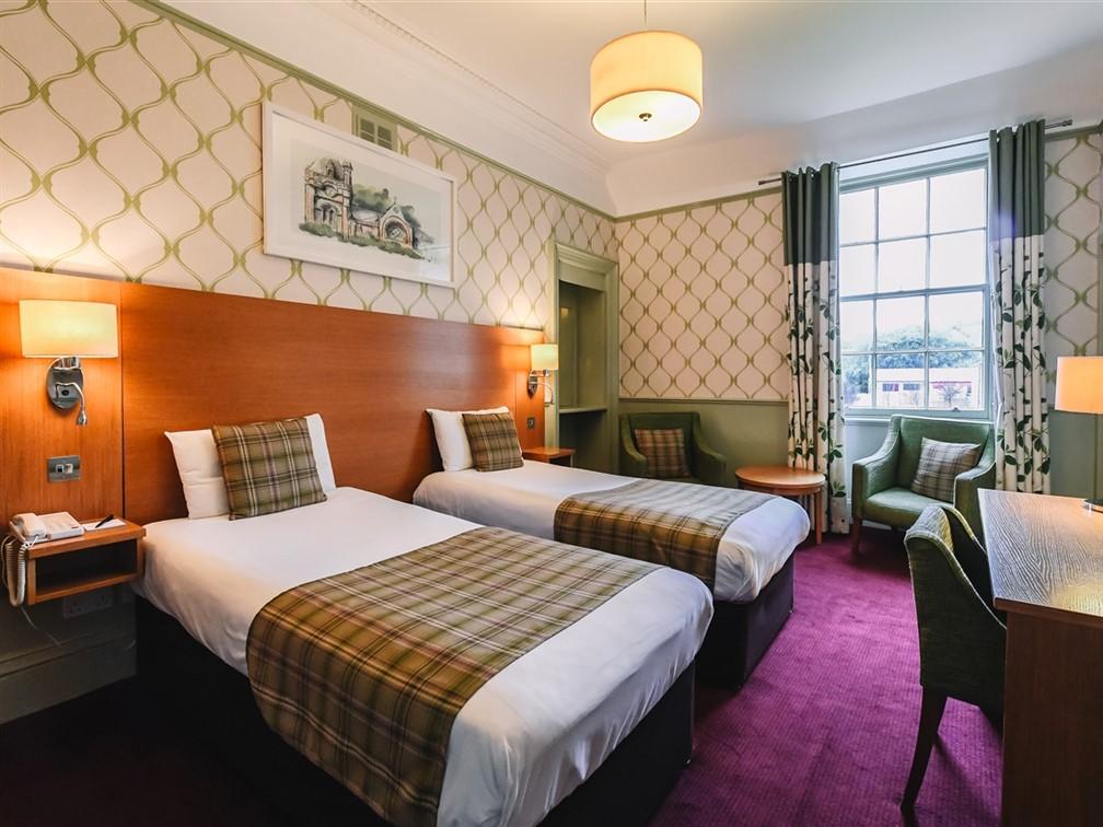 Fishers Hotel Twin Room