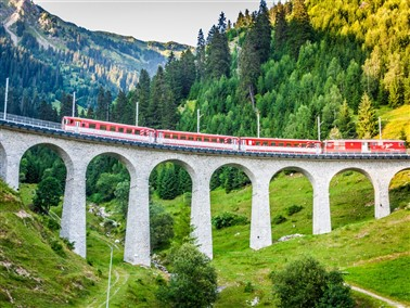 Royals & Rails in Stylish Klosters