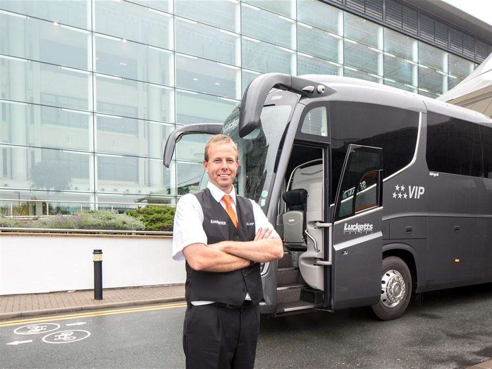 VIP Coach & driver (driver may change)