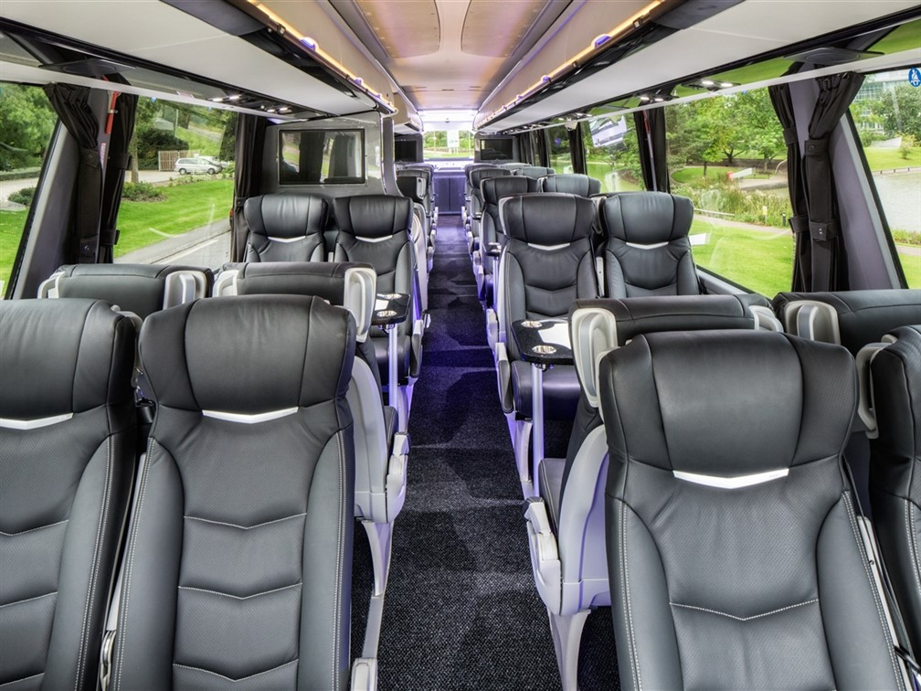 VIP coach Interior