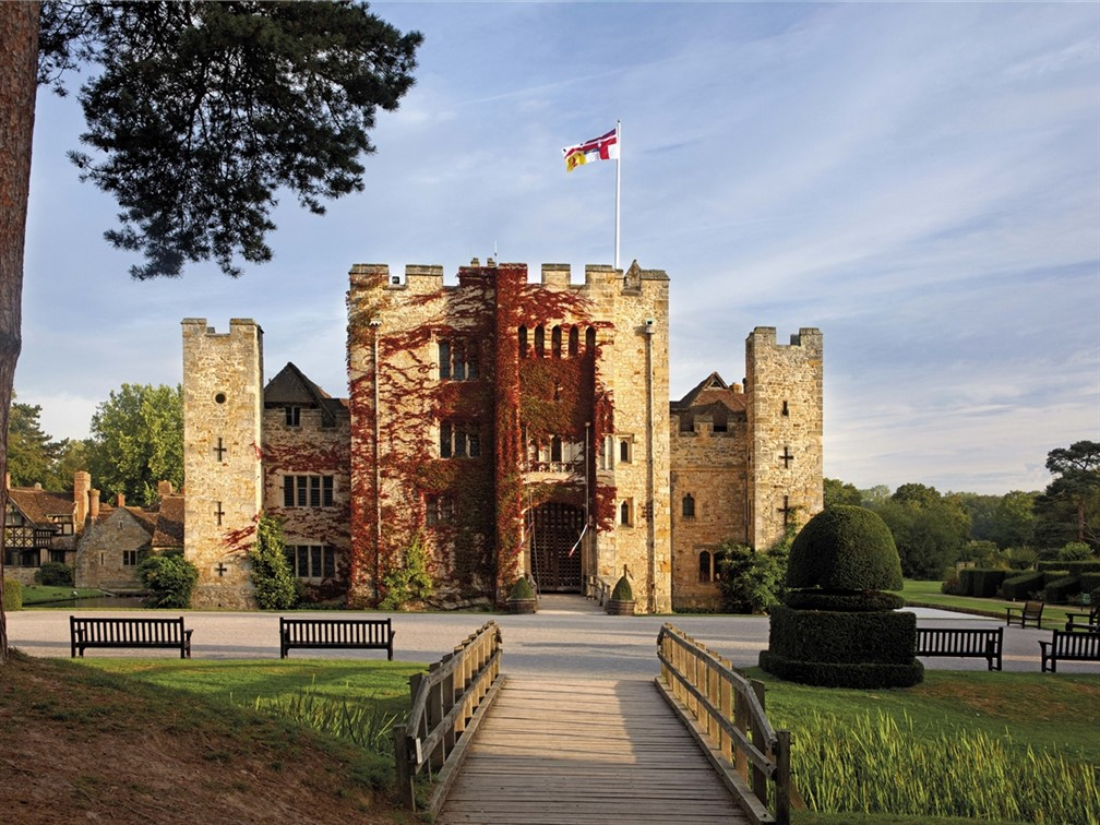 Journey through History & Jousting at Hever Castle