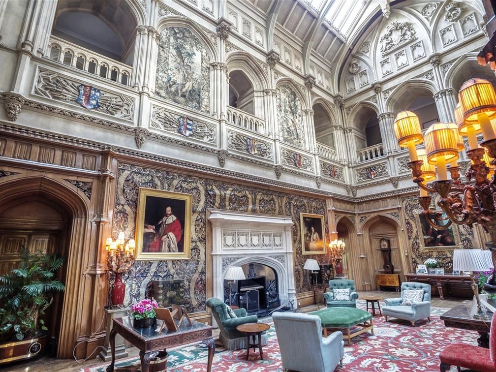 Inside Highclere Castle