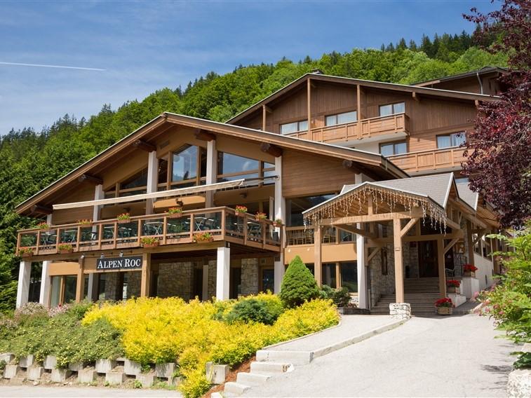 Alpen Roc - vu exterieur ete