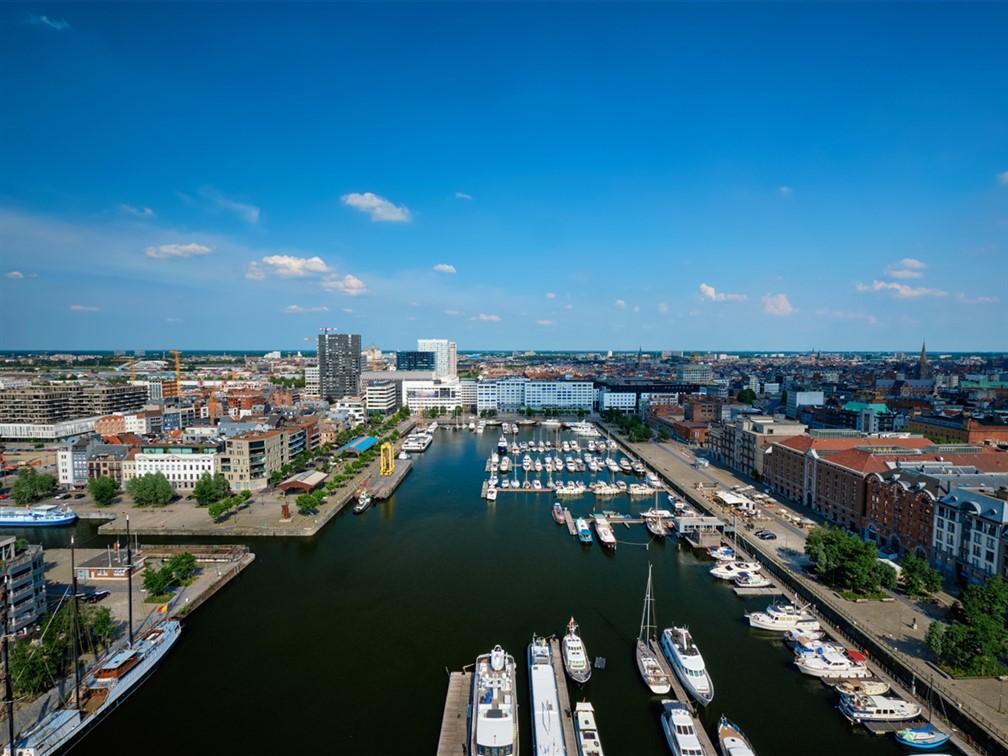 Antwerp's oldest harbour