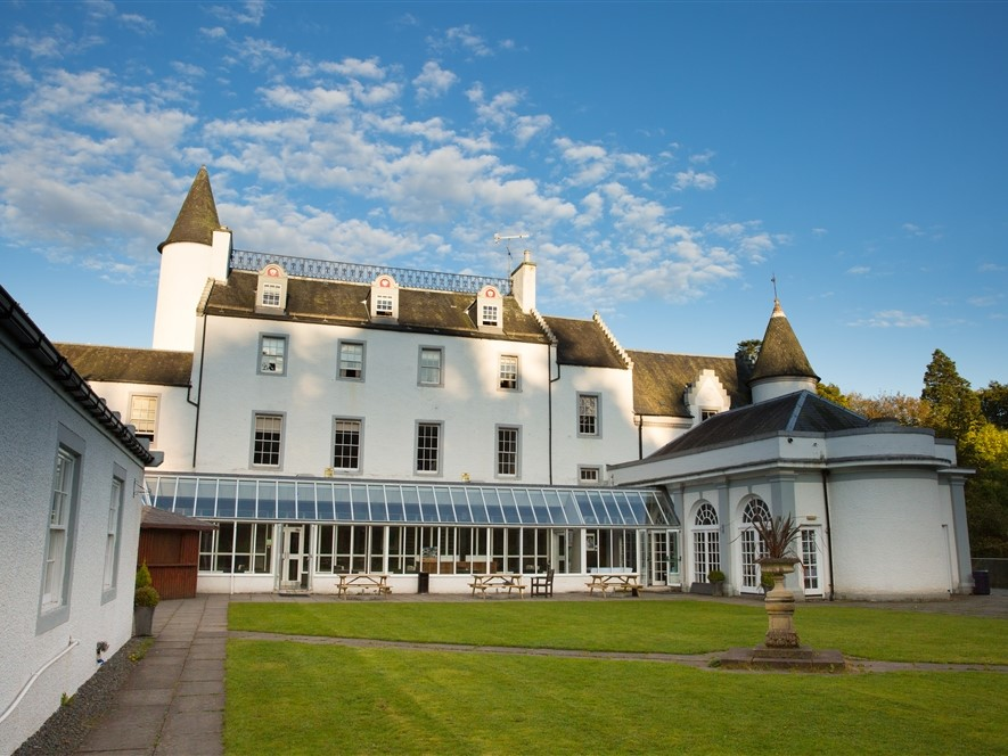 Barony Castle Hotel External Rear