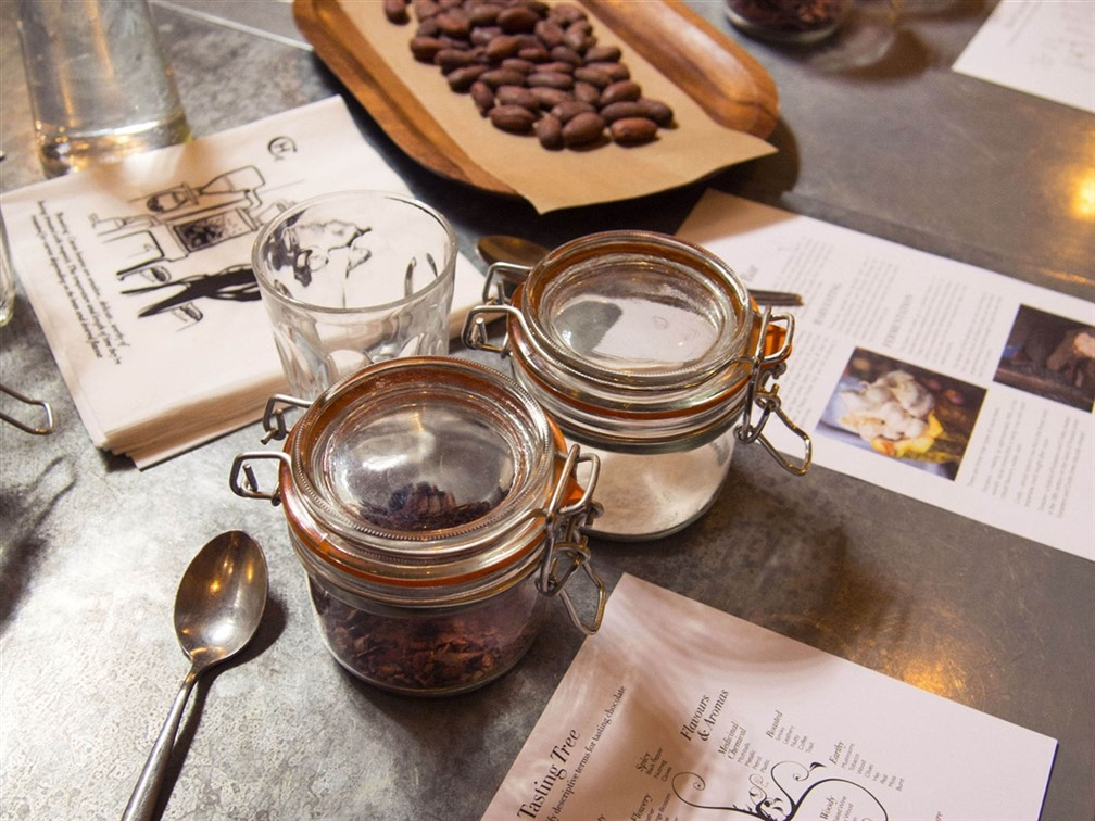 London and the Hotel Chocolat Vaults