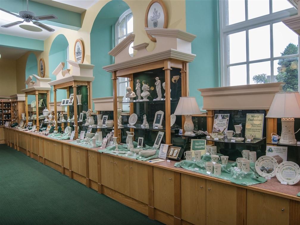 Belleek Pottery Courtesy of Fermanagh Lakeland