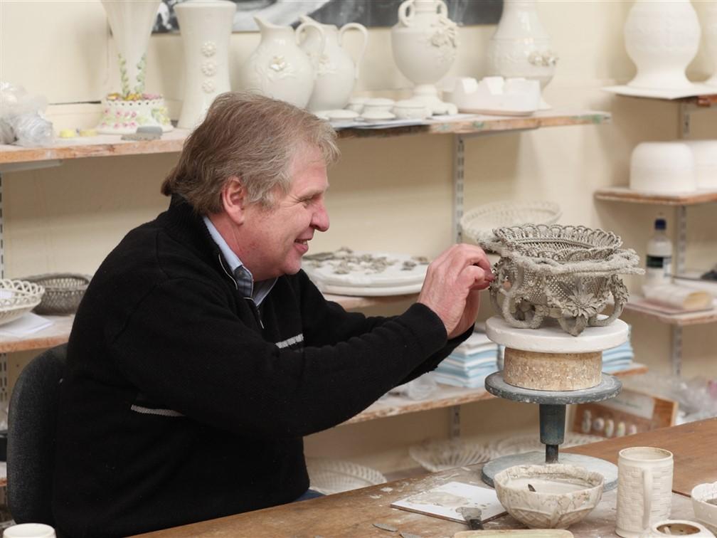 Belleek Pottery Craftsman