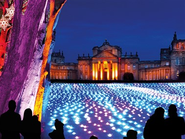 Illuminated Trail at Blenheim Palace