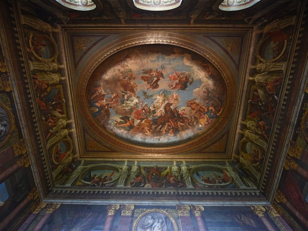 Blenheim Palace Saloon Ceiling