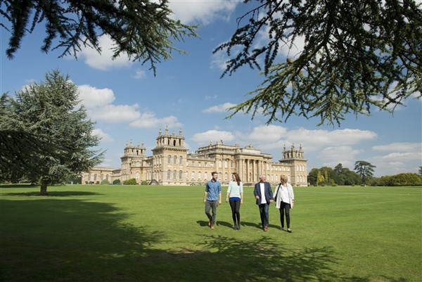 Blenheim Palace South Lawn Family