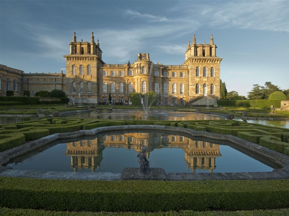 Blenheim Palace Water Terrace 1