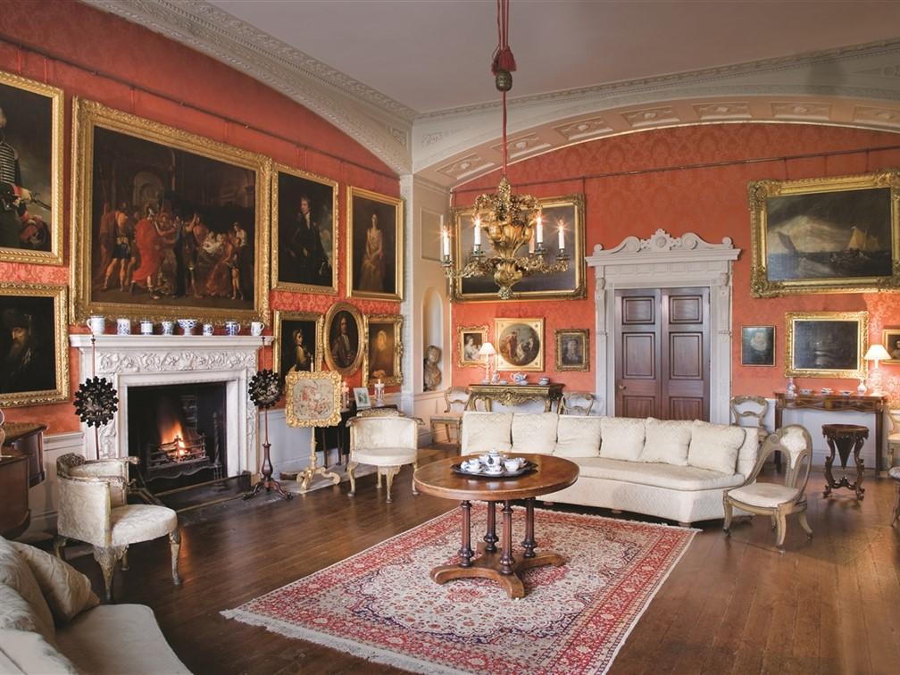 Browsholme Hall - Drawing room