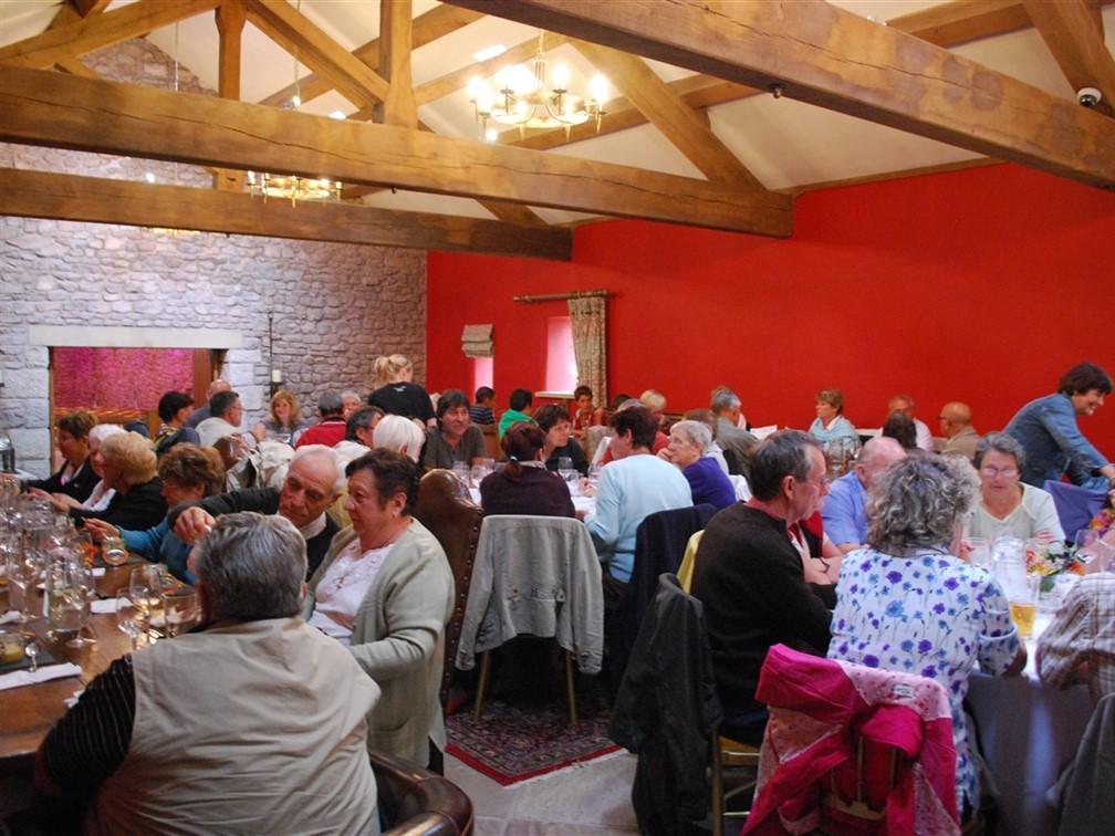 Browsholme Hall - tea room
