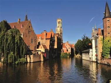 Bruges via Eurotunnel