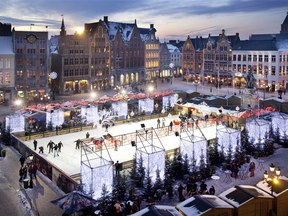 Bruge Christmas Market © Stad Brugge