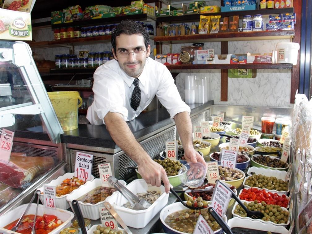 Bury Market - Olive Man
