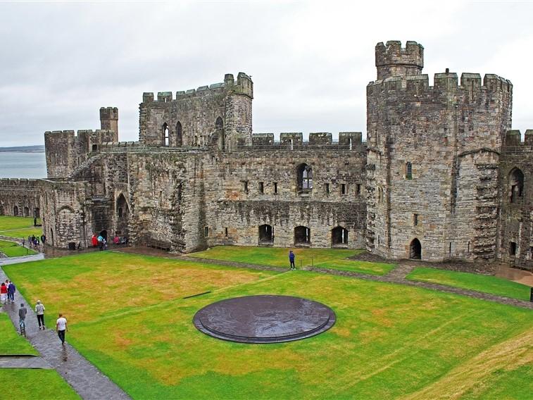 Caernarfon Castle inner