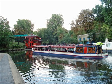 Camden Cruise with Fish and Chip Lunch