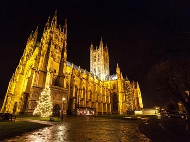 Canterbury Cathedral at Christmas - © Visit Kent