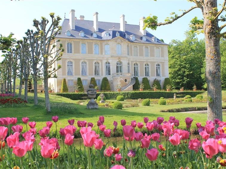 Chateau de Vendeuvre house & tulipe