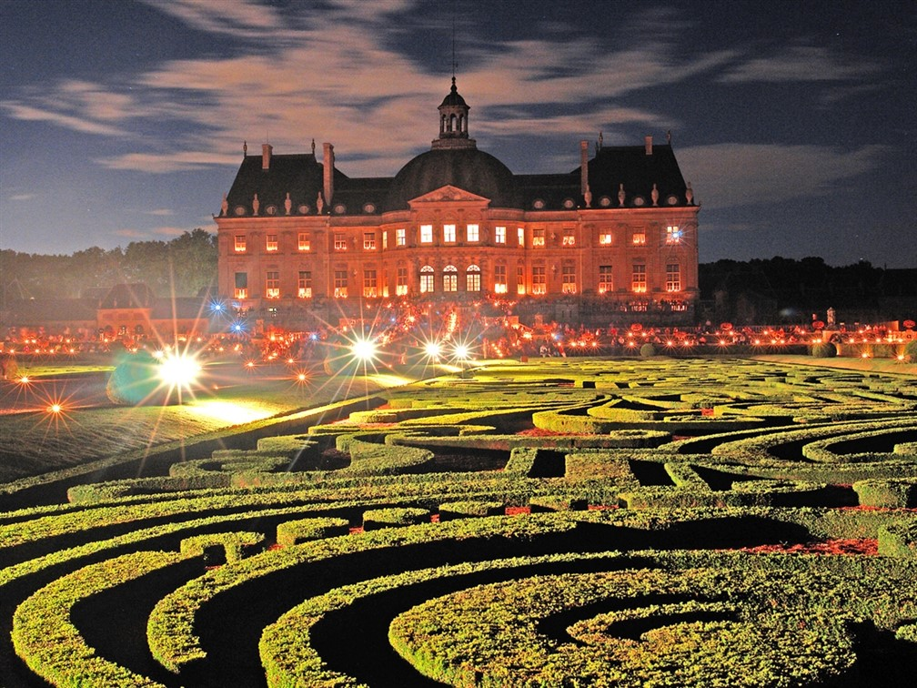 Chateau vaux le Vicomte-candlelight © Milochau
