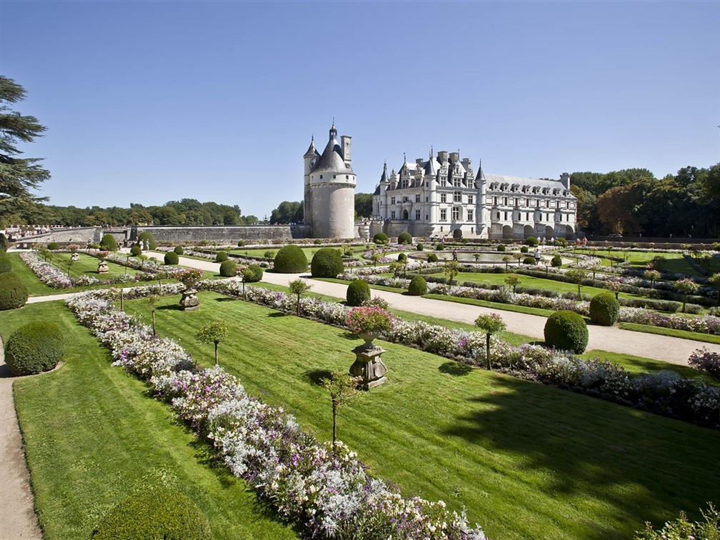 Chenonceau & Gardens-spring ©imagesdemarc