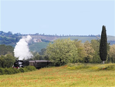 Steam & Spring into Tuscany