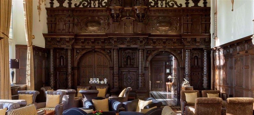 Crewe Hall Lounge