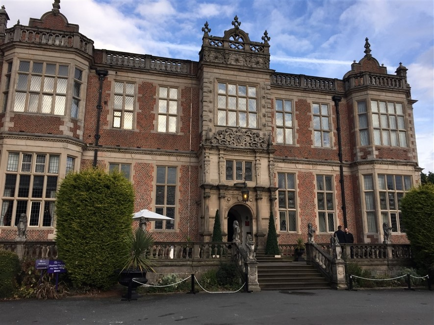 Crewe Hall - Front