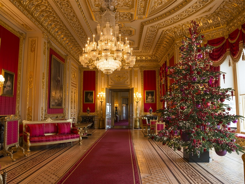 Windsor Castle at Christmas