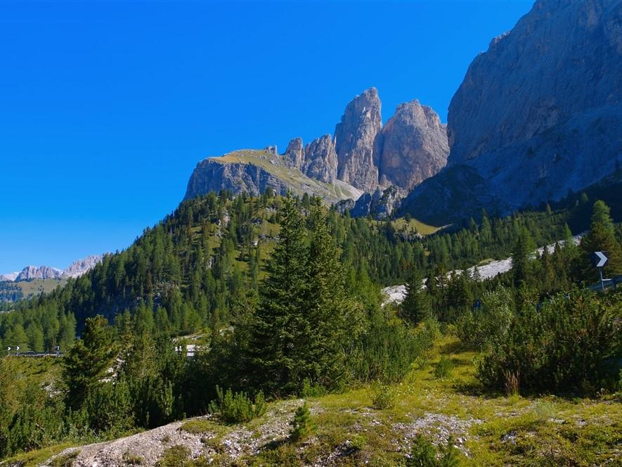 Dolomites, Sella Pass