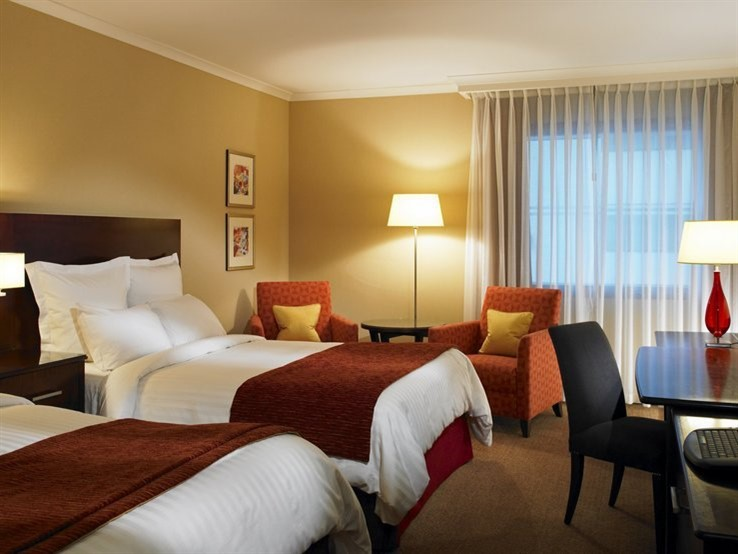 Marriott Leicester Double Guest Room