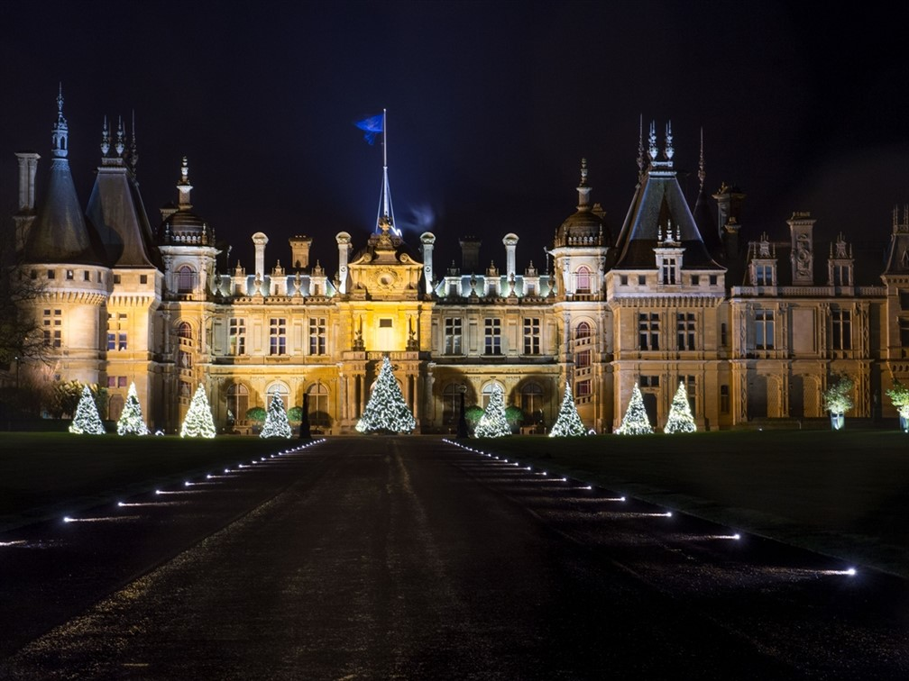 Waddesdon Manor at Christmas & Illuminations