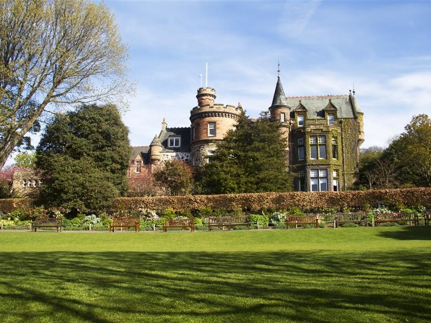 Edinburgh Zoo Mansion House Lawn