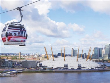Emirates Cable Car, River Cruise & Afternoon Tea